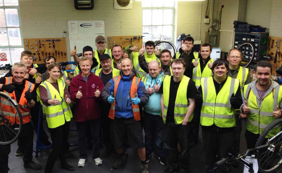 the team at Bike Project Surrey